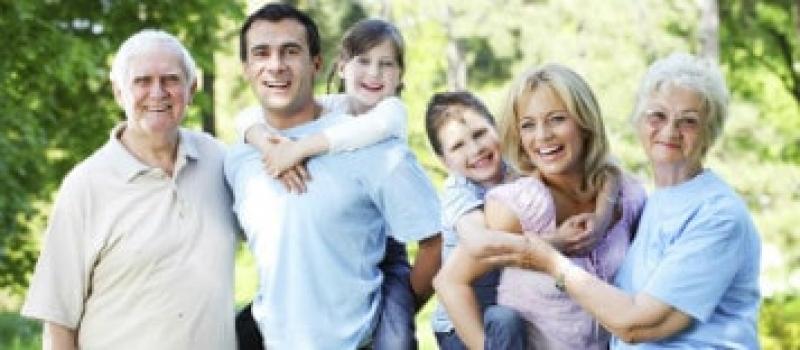 Happy Australian family visa